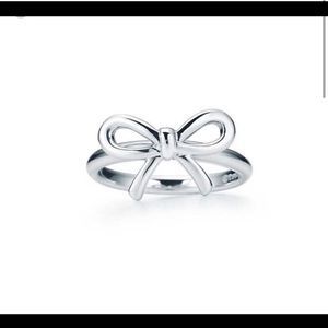 Tiffany and co bow ring